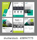 company flyer vector...   Shutterstock .eps vector #658947775