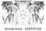 grunge black and white urban... | Shutterstock .eps vector #658949146