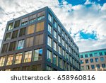 hdr look of finance house | Shutterstock . vector #658960816