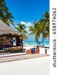 north beach on isla mujeres ... | Shutterstock . vector #658976062