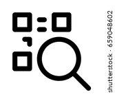 scan qr code | Shutterstock .eps vector #659048602