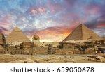 pyramids  | Shutterstock . vector #659050678