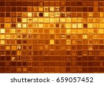 gold tile background  luxury... | Shutterstock . vector #659057452