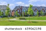 luxury houses in north america | Shutterstock . vector #659062198