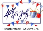 4th july   independence day of...   Shutterstock .eps vector #659095276