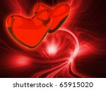 abstract red color background...   Shutterstock . vector #65915020