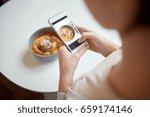 food  new nordic cuisine ... | Shutterstock . vector #659174146