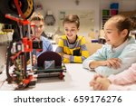 education  children  technology ... | Shutterstock . vector #659176276