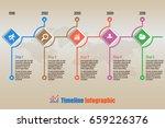 design template  modern... | Shutterstock .eps vector #659226376