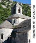 Senanque Abbey near Gordes, Provence, France - stock photo