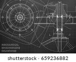 mechanical engineering drawings.... | Shutterstock .eps vector #659236882