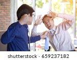 fighting business concept.... | Shutterstock . vector #659237182
