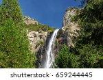 Beautiful Bridalveil Falls Cut...