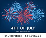 4th of july   usa  happy  ... | Shutterstock .eps vector #659246116