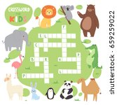 kids magazine book puzzle game... | Shutterstock .eps vector #659259022