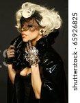 berlin   september 07  lady... | Shutterstock . vector #65926825