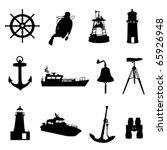 nautical set | Shutterstock .eps vector #65926948