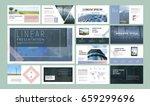 original presentation templates ... | Shutterstock .eps vector #659299696