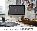 graphic of personal organizer...   Shutterstock . vector #659300872