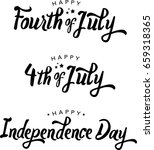 fourth of july and independence ... | Shutterstock .eps vector #659318365