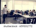 start up business team... | Shutterstock . vector #659331772
