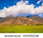 nyingchi scenery in qinghai  ... | Shutterstock . vector #659350138