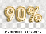 90  off discount promotion sale ... | Shutterstock . vector #659368546