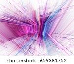 abstract background element. 3d ... | Shutterstock . vector #659381752