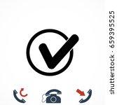 tick icon vector  vector eps 10 ...