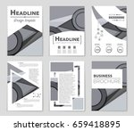 abstract vector layout... | Shutterstock .eps vector #659418895