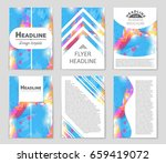 abstract vector layout...   Shutterstock .eps vector #659419072