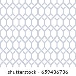 abstract geometric pattern with ... | Shutterstock . vector #659436736