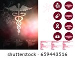 2d illustration health care and ...   Shutterstock . vector #659443516