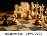 international day of chess ... | Shutterstock . vector #659470192