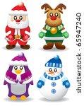 christmas character | Shutterstock .eps vector #65947240