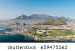 cape town  south africa  aerial ... | Shutterstock . vector #659475262