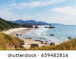 cannon beach  oregon coast  usa | Shutterstock . vector #659482816