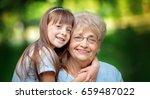 closeup summer portrait of...   Shutterstock . vector #659487022