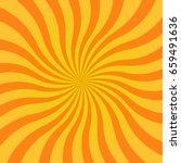 abstract yellow sun rays... | Shutterstock .eps vector #659491636