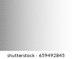 abstract halftone dotted... | Shutterstock .eps vector #659492845