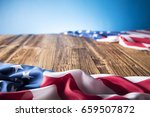 4th of july. american flag.... | Shutterstock . vector #659507872