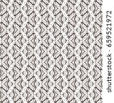 abstract woven texture. braided ... | Shutterstock .eps vector #659521972