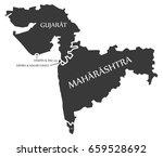 gujarat   daman and diu   dadra ...   Shutterstock .eps vector #659528692