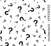 Question Mark Seamless Pattern...