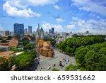 ho chi minh city   vietnam  ... | Shutterstock . vector #659531662