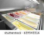 containers with different sorts ... | Shutterstock . vector #659545516