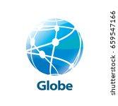 vector logo globe | Shutterstock .eps vector #659547166