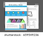 business flyer   business... | Shutterstock .eps vector #659549236