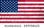 flag of united states | Shutterstock . vector #659558125