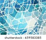 abstract geometric grunge...   Shutterstock . vector #659583385
